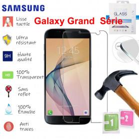 Film de Verre Trempé HD Avec Emballage - SAMSUNG Galaxy Grand 2 3 Prime Plus