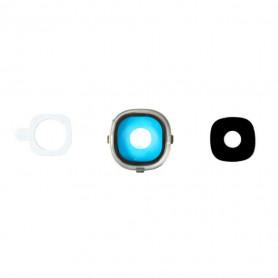 Vitre caméra arrière Samsung Galaxy S4 (i9505/i9500) Contour + Vitre cache
