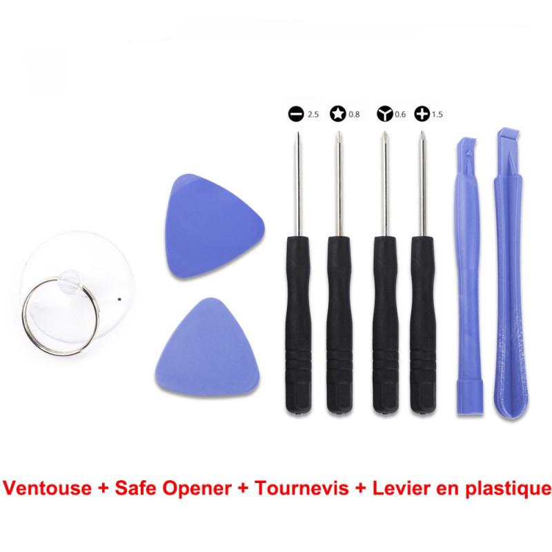 Ventouse + Safe Opener + Tournevis + Levier en plastique