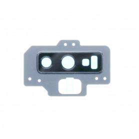 Vitre caméra arrière Samsung Galaxy Note9 (N960F) Argent Contour + Vitre cache