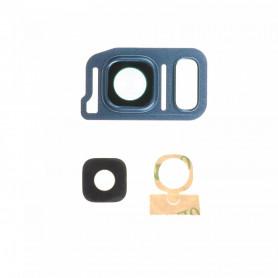 Vitre caméra arrière Samsung Galaxy Note7 (N930F) Blue Contour + Vitre cache