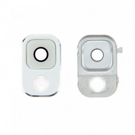 Vitre caméra arrière Samsung Galaxy Note3 (N9005) Blanc Contour + Vitre cache