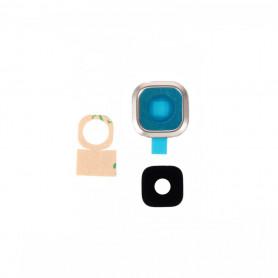 Vitre caméra arrière Samsung Galaxy A7 (A700F) Or Contour + Vitre cache