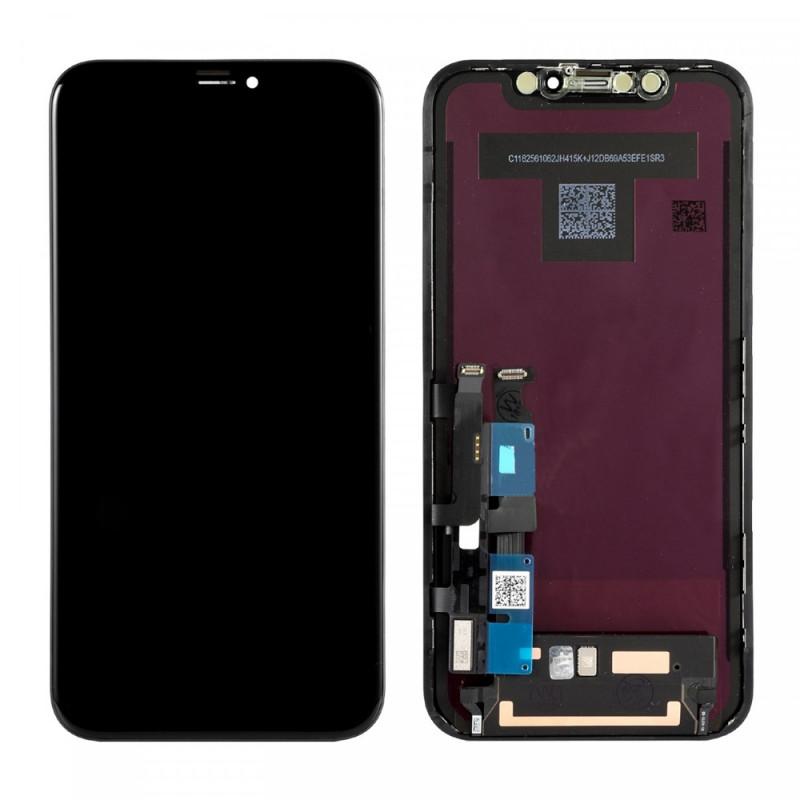 Ecran iPhone XR LCD + Vitre Tactile Sur Châssis - Original reconditionné