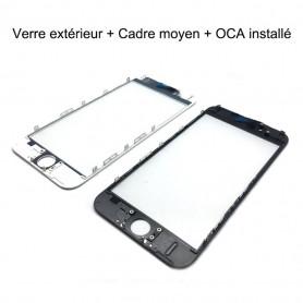 Verre Avec Remplacement De Cadre Pour iPhone 5 6 6 Plus 6 S 6 S Plus 7 7 Plus