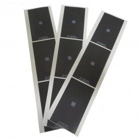Film autocollant noir rétro-éclairé Pour iPhone 5 6 6 Plus 6 S 6 S Plus 7 7 Plus 8 Plus