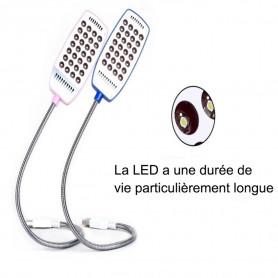 Lumière flexible d'USB de la 28 LED lampe pour lecture de bureau PC d'ordinateur