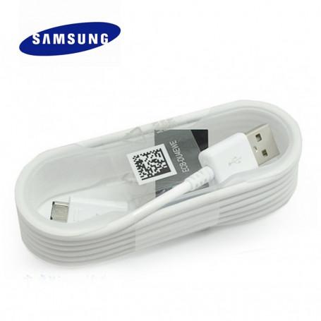 Original Chargeur Câble Data Micro USB pour Samsung Blanc
