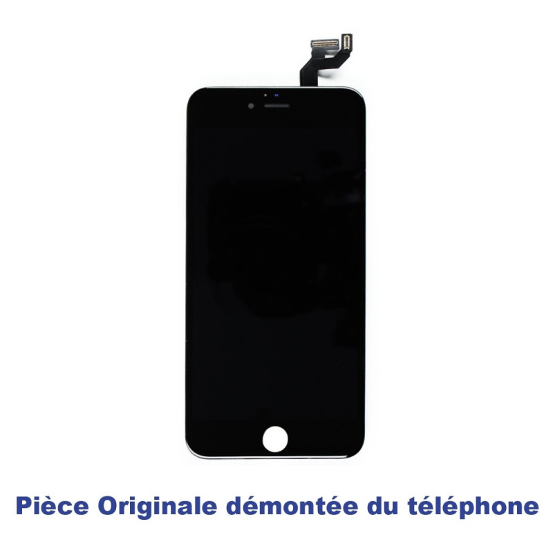 Ecran iPhone 6S Plus Blanc/Noir Démonté du Téléphone - LCD RETINA ORIGINAL + Vitre Tactile sur Chassis (Démonté)