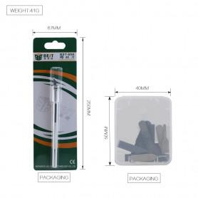 Scalpel Burin pour Grattez viscose,iPhone carte mère composants réparation professionnel