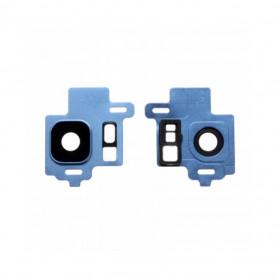 Vitre caméra arrière Samsung Galaxy S8 (G950F) Blue Contour + Vitre cache