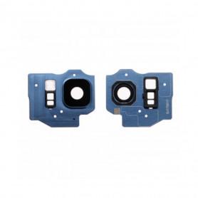 Vitre caméra arrière Samsung Galaxy S8 Plus (G955F) Blue Contour + Vitre cache