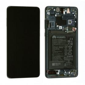 Ecran complet Batterie Huawei Mate 20 Noir LCD+ Vitre Tactile Sur Chassis Original