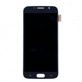 Ecran LCD + Vitre Tactile Noir - Samsung Galaxy S6