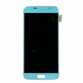 Ecran LCD + Vitre Tactile Blanc - Samsung Galaxy S6