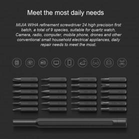 Xiaomi Wiha 24 en 1 Tournevis de Précision Kit pour Caméra Électroménager Mobile Téléphone Tablette PC