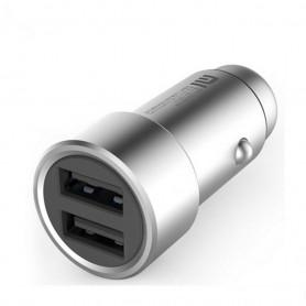 Xiaomi Chargeur de voiture Dual USB Charge rapide métal 5V / 3.6A