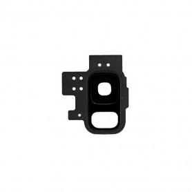 Vitre caméra arrière Samsung Galaxy S9 (G960F) Noir Contour + Vitre cache