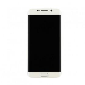 Ecran LCD + Vitre Tactile Blanc - Samsung Galaxy S6 Edge