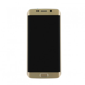 Ecran LCD + Vitre Tactile Or - Samsung Galaxy S6 Edge