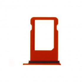 Tiroir SIM iPhone 8 Rouge