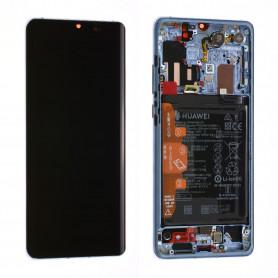 Écran Huawei P30 Bleu Nacré + Châssis + Batterie (Origine)
