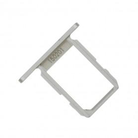 Tiroir SIM Samsung Galaxy S6 (G920F) Blanc