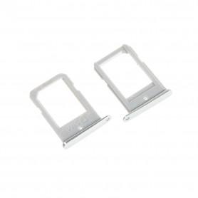Tiroir SIM Samsung Galaxy S6 Edge (G925F) Blanc