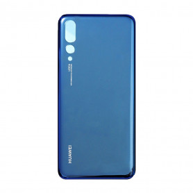 Vitre arrière HUAWEI P20 Pro (CLT-L04) Bleu - Avec Logo + Adhesif