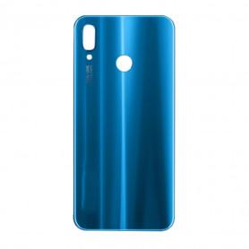 Vitre arrière HUAWEI P20 Lite (ALE-LX1) Bleu - Avec Logo + Adhesif
