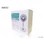 Ventilateur portable télescopique REMAX Rose 7200 mAh pour l'été rechargeable par USB