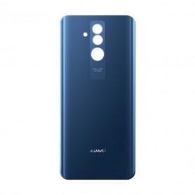 Vitre arrière Huawei Mate 20 Lite Noir/Bleu/Or- Avec Logo + Adhesif