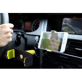REMAX RM-C17- Support universel de portable pour voiture jaune /noir