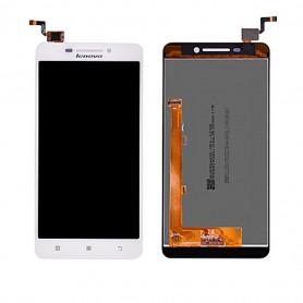 Ecran LENOVO A5000 Blanc Vitre Tactile + LCD (COMPLETE)