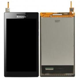 Ecran LENOVO A7-10F Noir Vitre Tactile + LCD (COMPLETE)