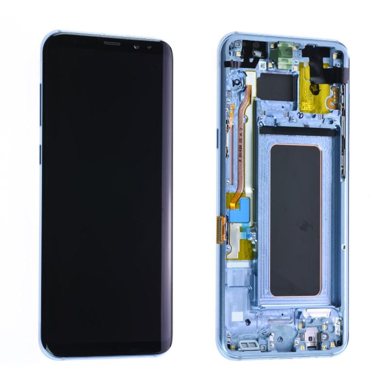 Écran Samsung Galaxy S8+ (G955F) Bleu (Reconditionné)