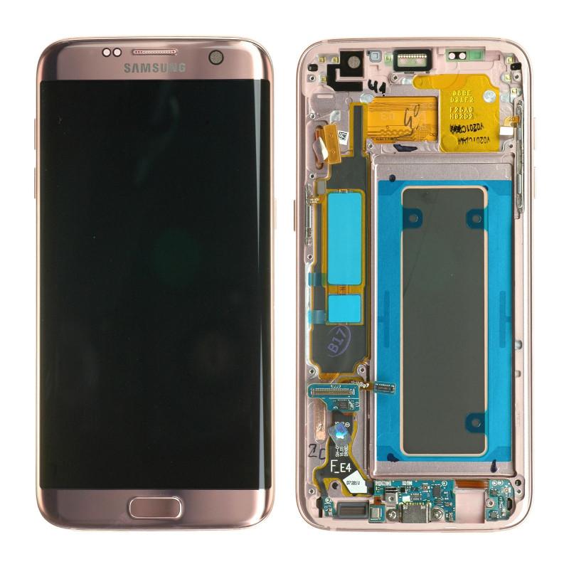 Écran Samsung Galaxy S7 Edge (G935F) Rose (Reconditionné)