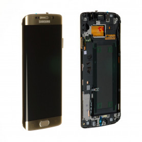 Écran Samsung Galaxy S6 Edge (G925F) Or (Reconditionné)
