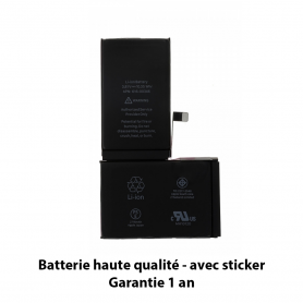 Batterie iPhone X Haute Qualité avec Sticker - Garantie Un an