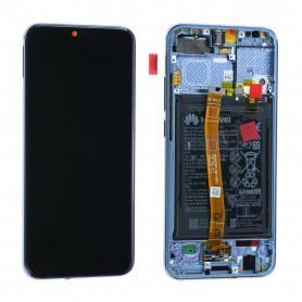 Écran Huawei Honor 10 Gris + Châssis / Batterie (Origine)