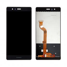 Ecran Huawei P9 Noir LCD + Vitre tactile