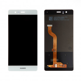 Ecran Huawei P9 Blanc LCD + Vitre tactile