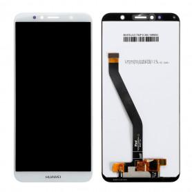 Écran Huawei Y6 2018 / Honor 7A Blanc  LCD+ Vitre Tactile