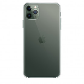 Coque en silicone iPhone 11 Pro Transparente