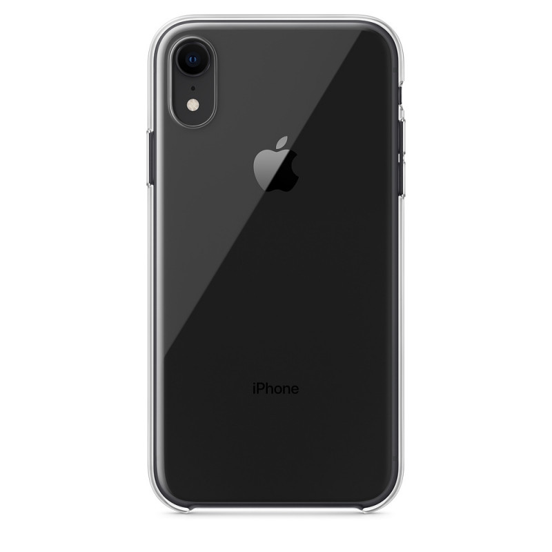 Coque en silicone iPhone X / Xs Transparente