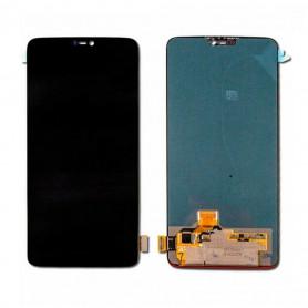 Ecran OnePlus 6 Noir LCD + Vitre Tactile