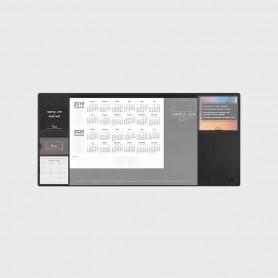 Tapis de table de rangement multifonctionnel - noir