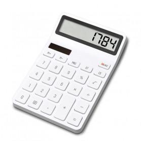 Calculatrice de bureau photoélectrique double piqué 12 nombre affichage arrêt automatique