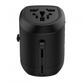 Worldwide Power Plug Adapter (UTT-2U01)