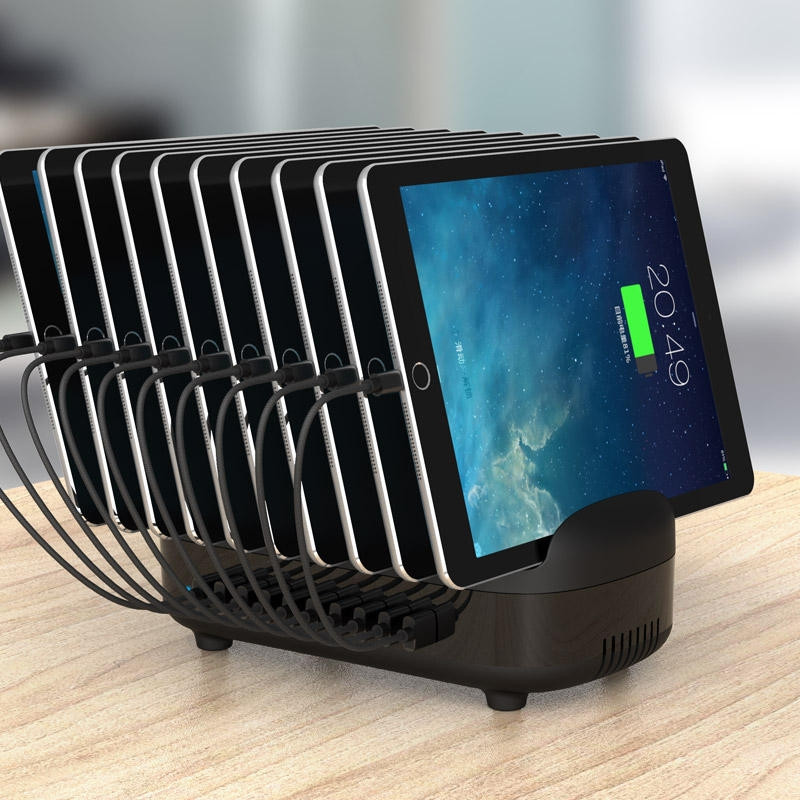 ORICO 120W 10 Ports USB Smart Charging Station with Phone & tablet Stand (DUK-10P)